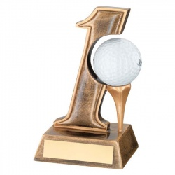Resin Golf Hole in One Trophy RF97