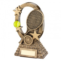 6.25in Resin Tennis Trophy RF742