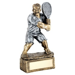 Tennis Comic Beast Figure Trophy