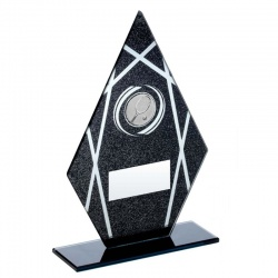 Tennis Glass Peak Award in Black & Silver