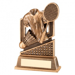 5.5in Resin Badminton Awards Trophy