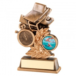 6in Swimming Awards Trophy