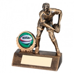 Resin Rugby Player Trophy RF70