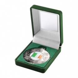 Irish Four Provinces Silver Medal in Presentation Case
