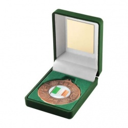 Irish Four Provinces Bronze Medal in Presentation Case