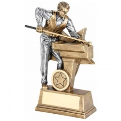 Resin Snooker Player Trophy RF175