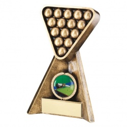 Resin Pool Snooker Trophy RF254