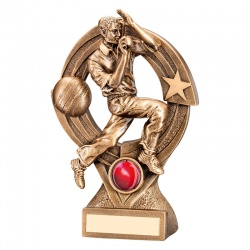 8.25in Cricket Bowlers Award Trophy