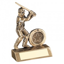 Resin Cricket Batsman Trophy RF40
