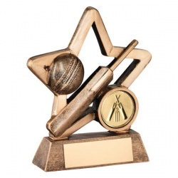 Resin Cricket Star Award RF412