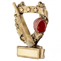 Resin Cricket Scene Trophy RF486