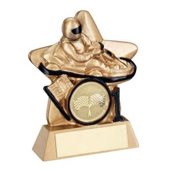 Resin Gold Star Motorsports Trophy RF450