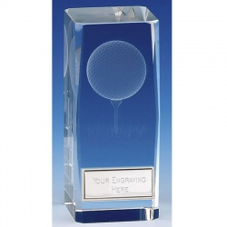 Clarity Golf Ball Glass Block