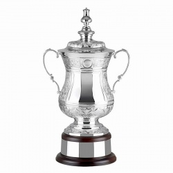 Handchased Silver Trophy L566