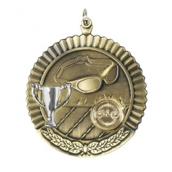 2in Gold Swimming Medal MD05G