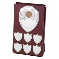 8in Wood Perpetual Plaque