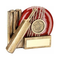 Resin Cricket Trophy RF366