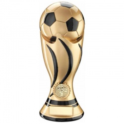 11in Gold Football Trophy RF920