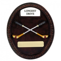 Golf Wall Plaque - Longest Drive