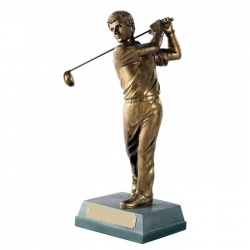 Golf Figure Trophy - Completed Swing