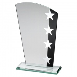 6.5in Jade, Black & Silver Plaque SK2