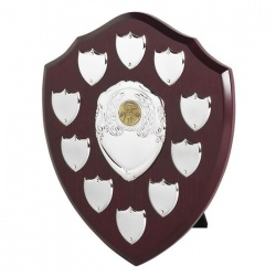 10in Wood Awards Shield SVP