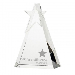 Crystal Star Triangle Award SY1012