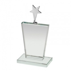 Plaque With Silver Star TZ034
