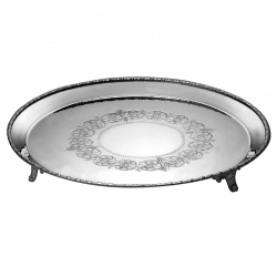 8in Round Waiter Tray UPP137137
