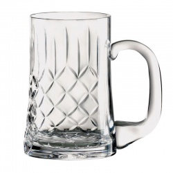 Cut Crystal Panel Tankard UPP841