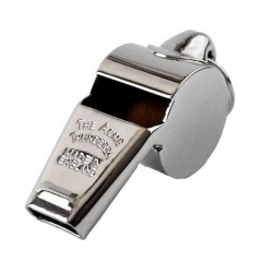 Nickel Plated Thunderer Whistle 60.5